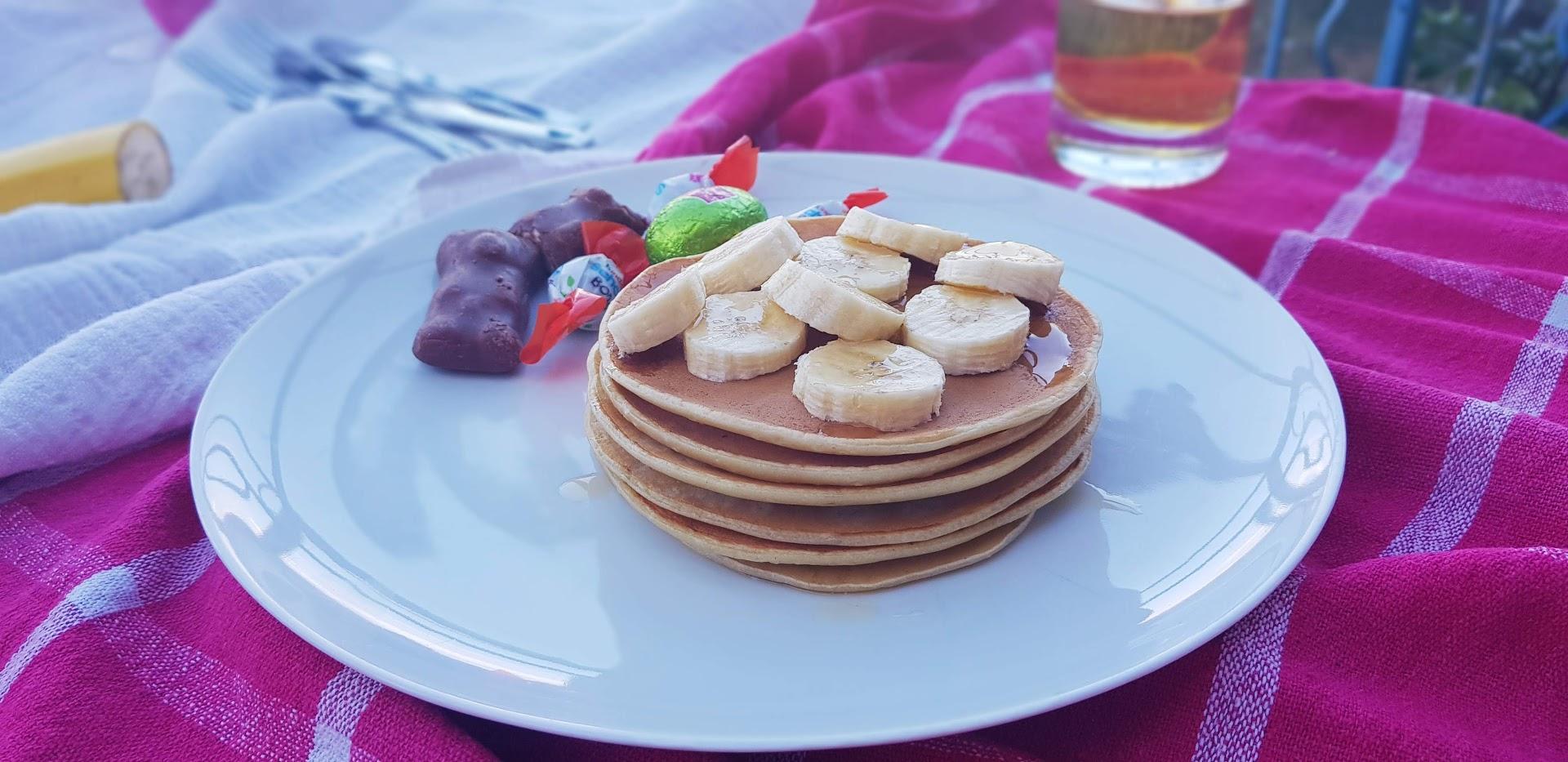 Pancakes à la Banane Bio sans sucre