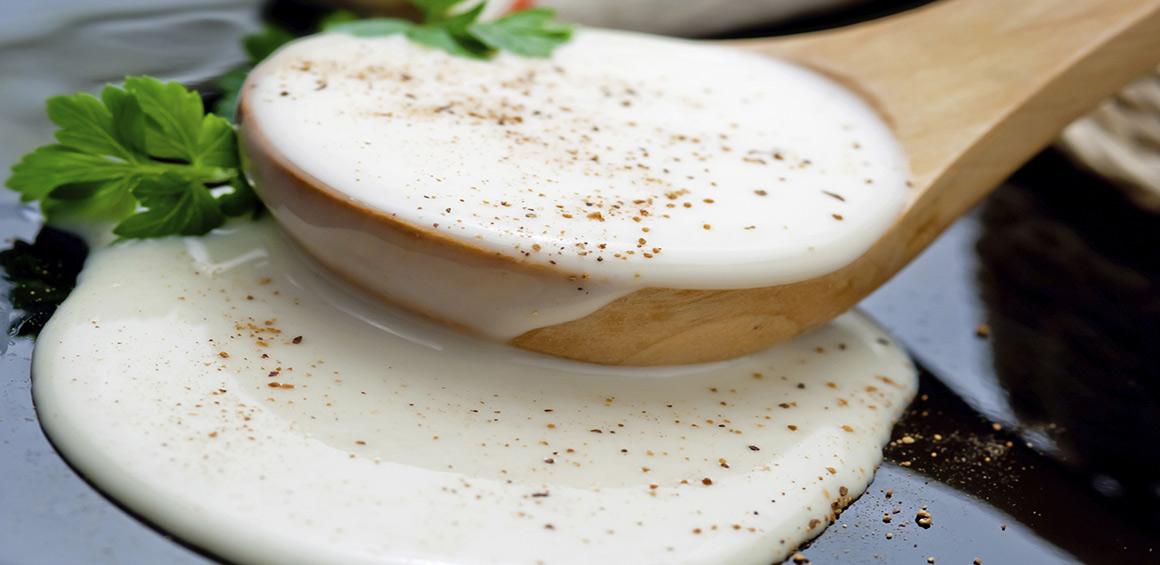 Sauce béchamel express sans beurre